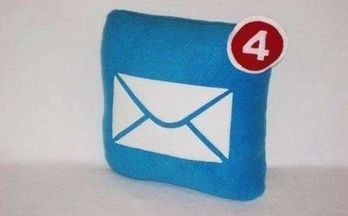 mail pillow