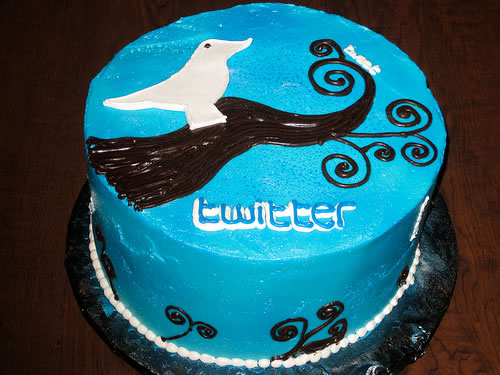 twitter bird with a twitter icon
