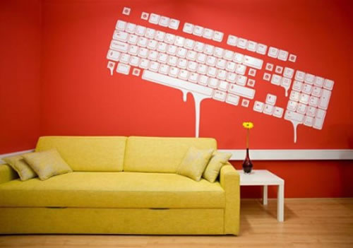 keyboard-wall