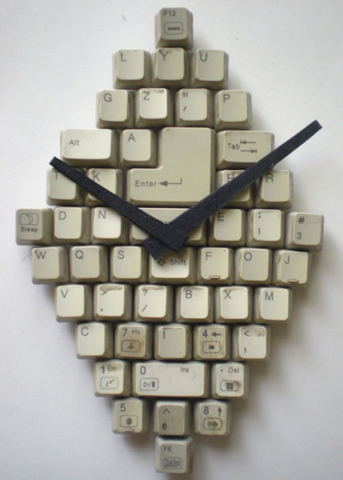 keyboard-clock