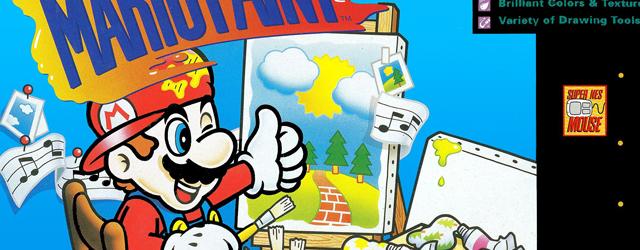 Mario Paint SNES special nintendo
