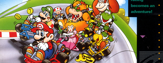 Super Mario Kart SNES greatest hits