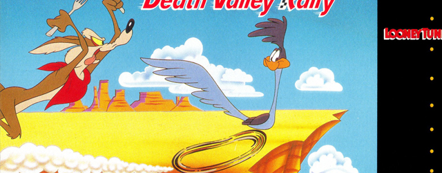 Roadrunner Death Valley Rally SNES artwork
