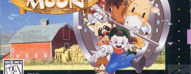 Harvest Moon Super Nintendo Box Artwork