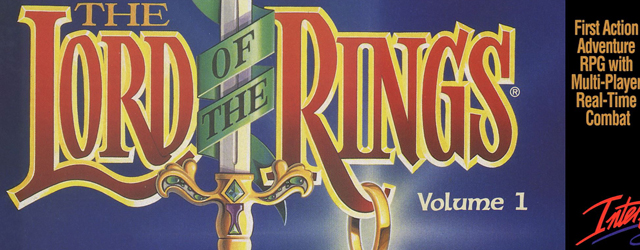 Lord of the Rings SNES box artwork