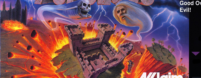 Populous SNES box artwork