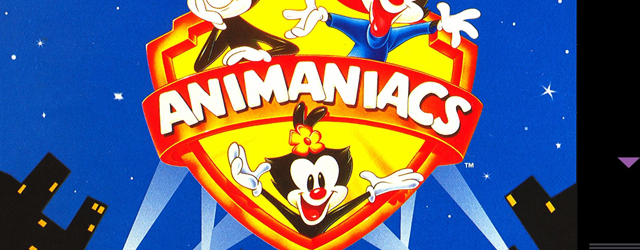 Animaniacs SNES game box