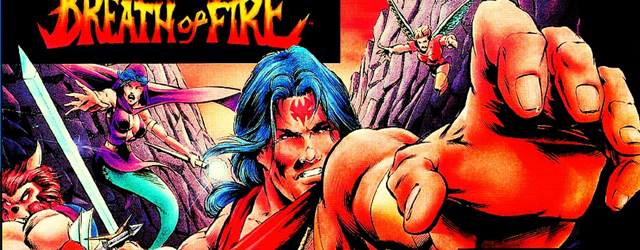Breath of Fire SNES box art