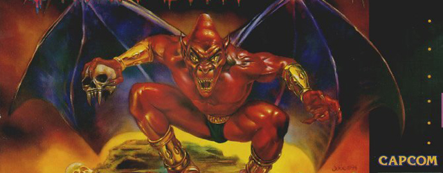 Demon's Crest SNES box art