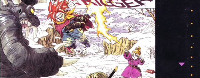 Chrono Trigger SNES box art