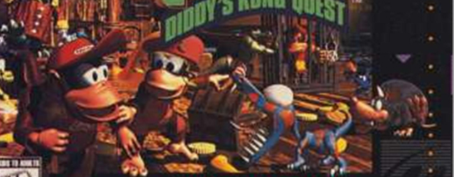 Donkey Kong Country 2: Diddy's Kong Quest SNES box artwork