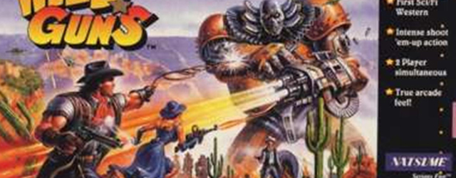 Wild Guns SNES art