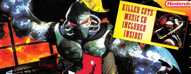 Killer Instinct SNES box artwork
