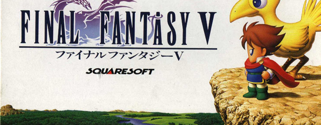 Final Fantasy V game art