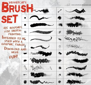 photoshop brushes download