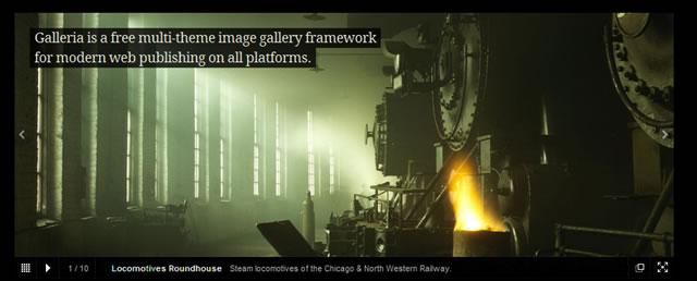 Galleria – JavaScript Image Gallery Framework