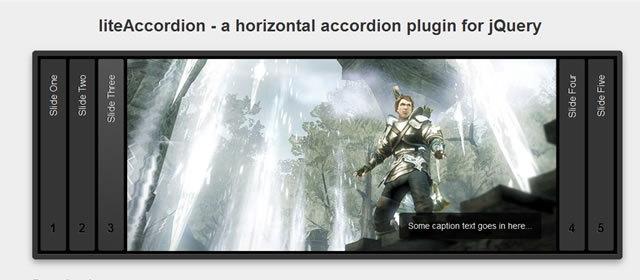 liteAccordion - A Horizontal Accordion Plugin for jQuery