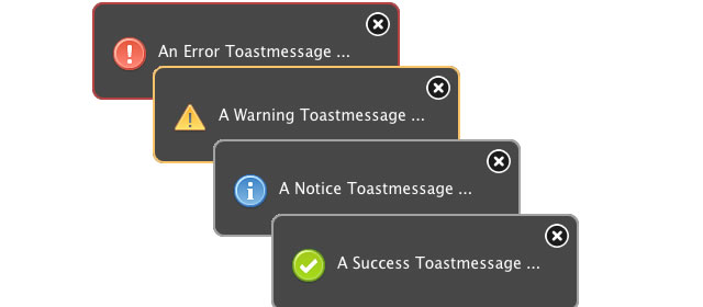 ToastMessage Plugin
