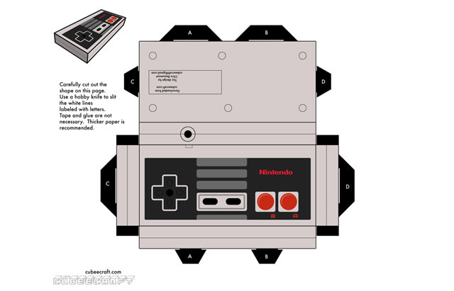 Amazing Papercraft Templates For The Geek Inside You