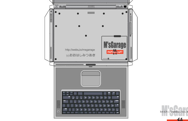 Powerbook G4 Template