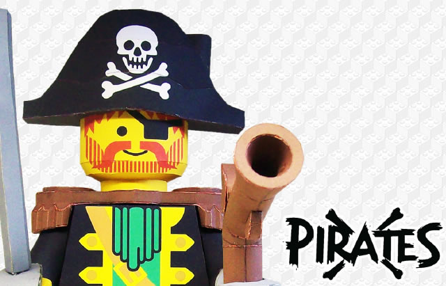 LEGO Captain Redbeard