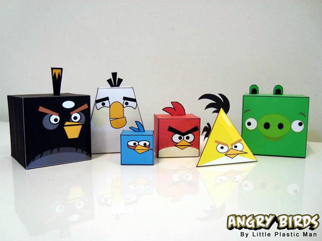 Angry Birds Papercraft
