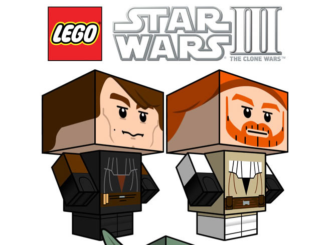 Lego Star Wars 3: Clone Wars Cubeecraft Series