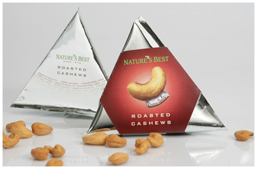 natures best roasted cashews employs a unique package structure and design style that appeals to upmarket customers the message conveyed by the package is - Packaging Design Ideas