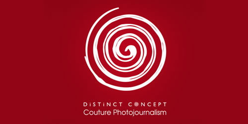 red color logo design inspiration brand Distinct Concept  l