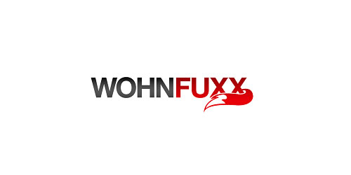 red color logo design inspiration brand Wohn Fuxx