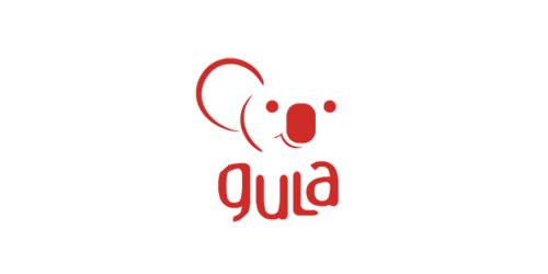 red color logo design inspiration brand Gula