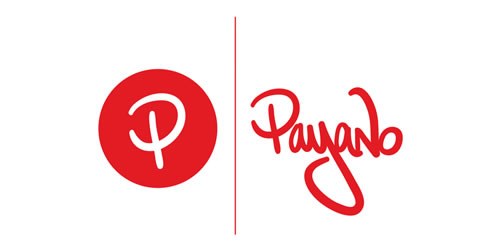 red color logo design inspiration brand Payano l