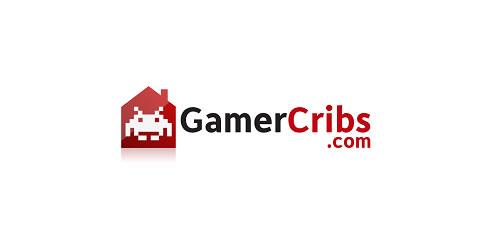 red color logo design inspiration brand Gaming Website Logo