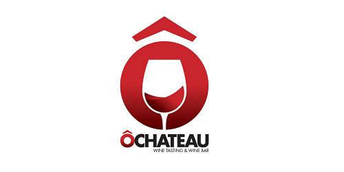red color logo design inspiration brand Wine Logo