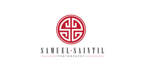 red color logo design inspiration brand Samuel Saintil
