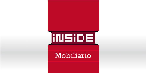 red color logo design inspiration brand Inside Mobiliario  l