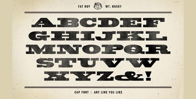 Fatboy Husky Beta - Free Font