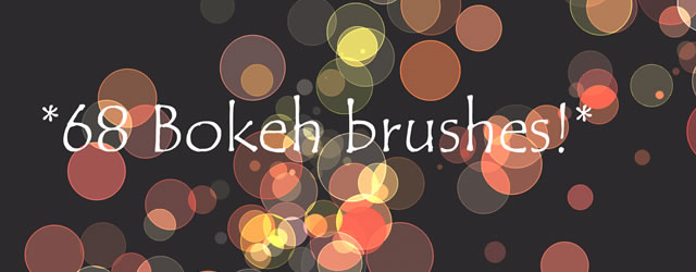 Bokeh Photoshop Brushes
