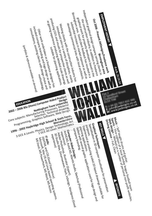 The  Most Creative Resume Designs Ever