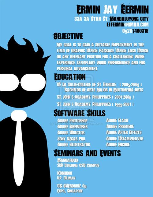Best Creative Resumes The 40 Most Creative Resume Designs Ever
