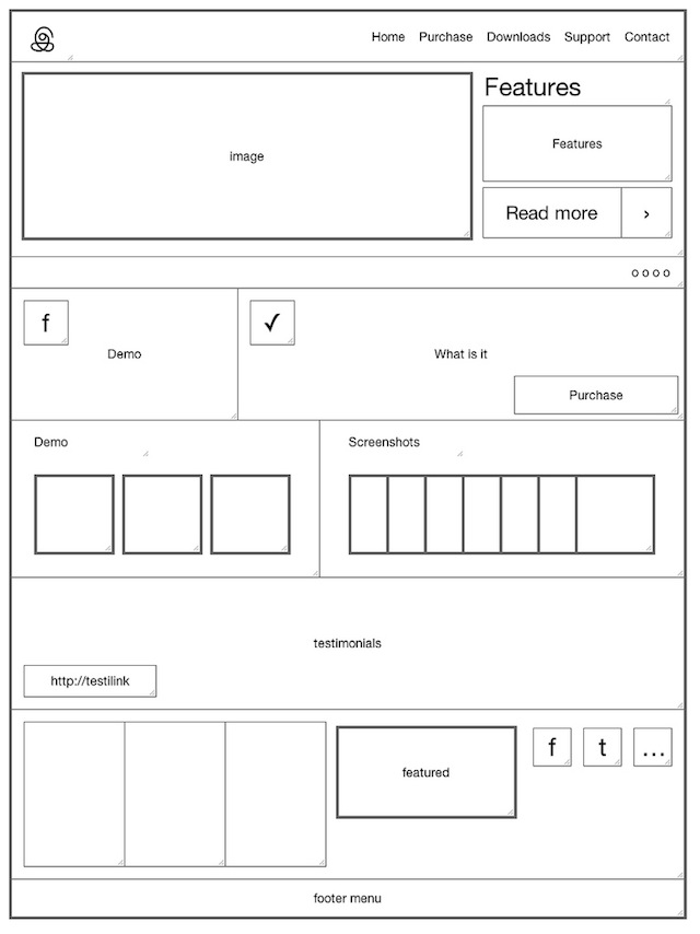 you don't need to be a digital artist wiz to create an effective wireframe sketch