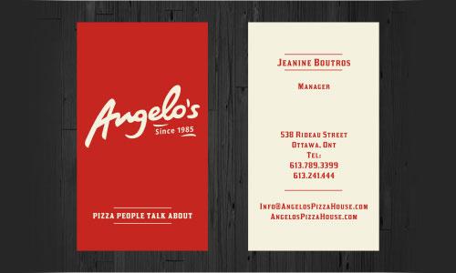 30 restaurant logo designs for inspiration angelos business card by pavlovic restaurant logo design inspiration branding reheart Images