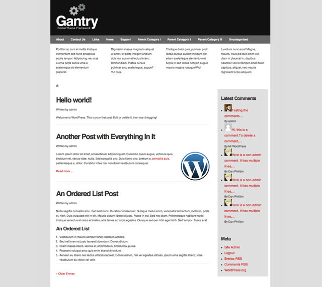How to Create a Basic WordPress Theme with Gantry Framework