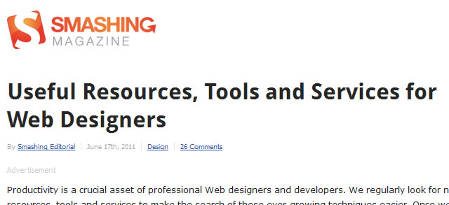 Useful Resources, Tools and Services for Web Designers