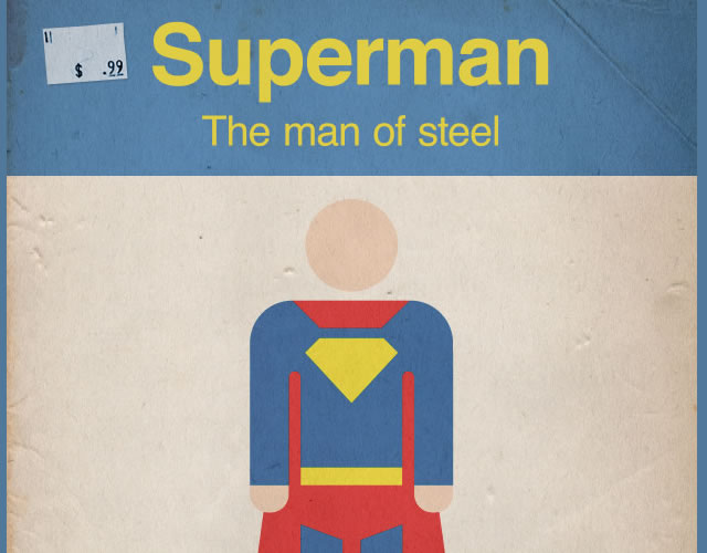 How To Create a Retro Style Superman Book Cover (Photoshop Tutorial)