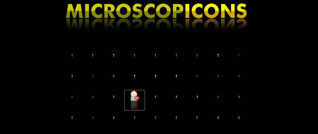 Microscopicons - Free Tiny Icons