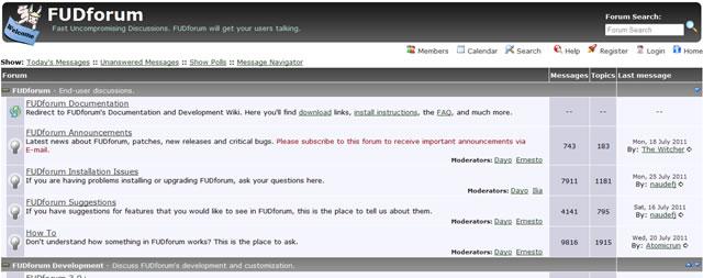 FUD Forum