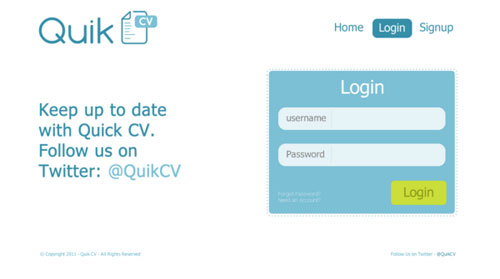 30 login forms with creative design