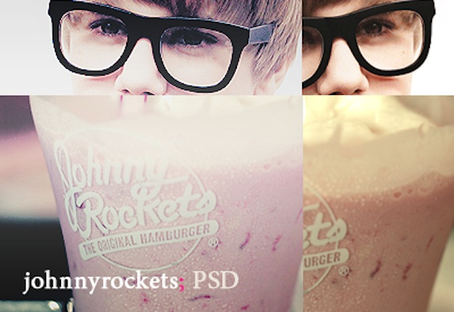 Johnnyrockets psd photography coloring