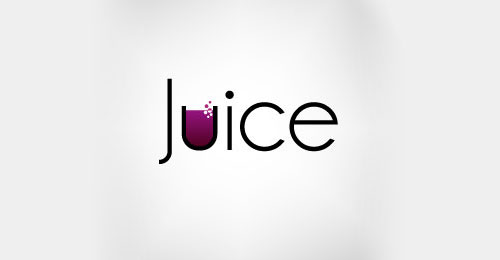 Bright Colorful Juice Smoothie Bar Logo Design Branding Inspiration